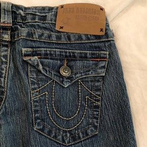 Dark Wash Vintage True Religion Jeans